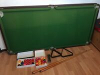 Snooker and pool table for sale