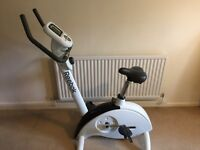 Reebok exercise bike with digital display in good condition. Pick-up only