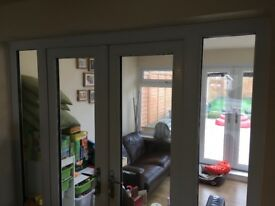 Uvpc double door. Brilliant condition!!! Only used as interior doors,