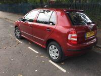 2005/55 skoda fabia 1.2 petrol 5 doors cheap car