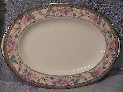 Noritake Embassy Suite Oval Serving  Platter 14 1 2