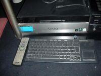 Sony VAIO VGX-XL100 250GB Intel Pentium D 2.8GHz, 1GB PC Desktop Living Room PC