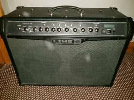 """Line 6 2 x 12"""" 120 watt combo in excellent condition full on board effects"""