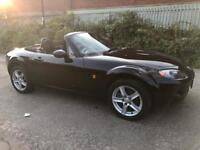 2006 MAZDA MX5 CONVERTIBLE IN BLACK BARGAIN £1395