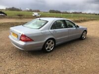 2005 05 MERCEDES S320 CDI AUTOMATIC LIMOUSINE SPEC FULLY LOADED TOO MANY EXTRAS-£2700