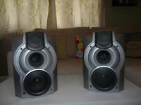 aiwa speakers with sub woofers