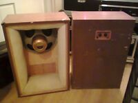 """Tannoy Monitor Gold 15"""" Speakers in Lancaster Cabinets - serious offers only please"""