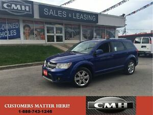 2012 Dodge Journey SXT V6 ALLOYS LOADED *CERTIFIED*