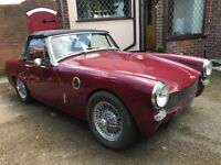 Austin Healey Sprite Original 1967 Racing Car Bob Yarwood Engine race ready