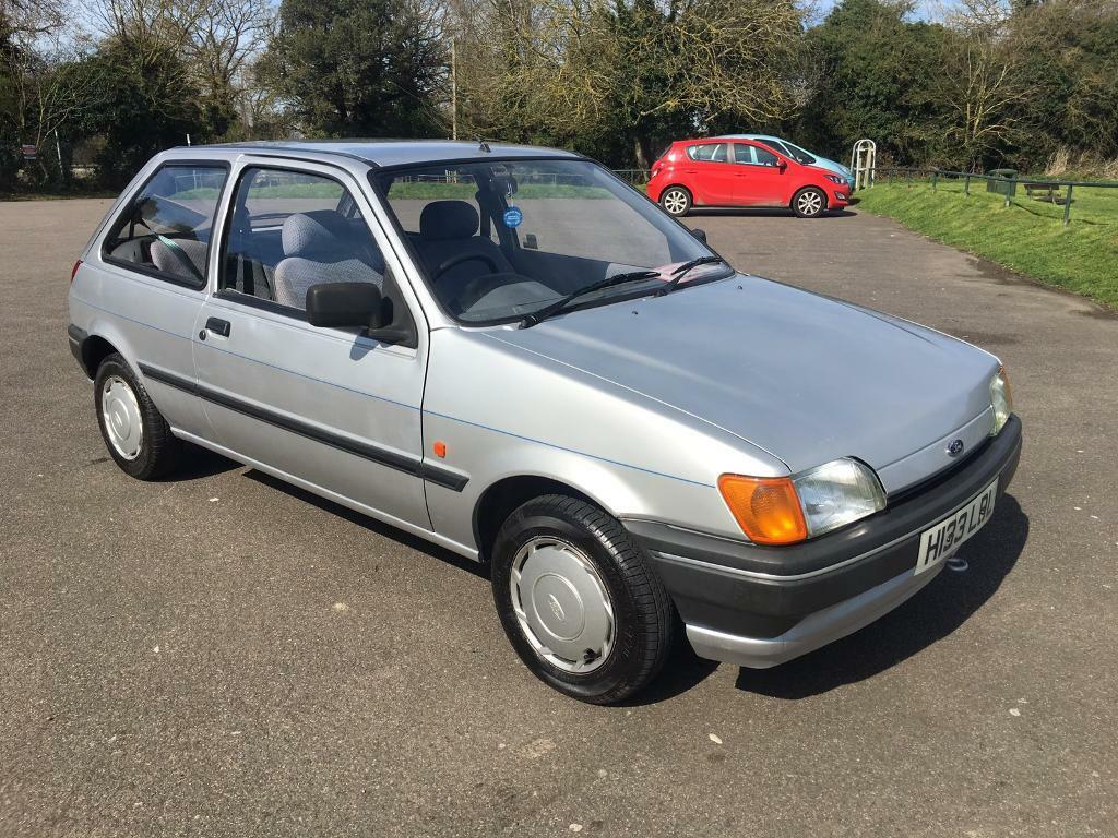 1991 ford fiesta popular plus 3 door mk3 38 000 miles. Black Bedroom Furniture Sets. Home Design Ideas