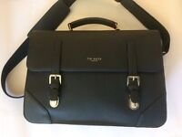 Men's Ted Baker satchel bag - navy blue