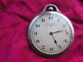 Edwardian era Longines pocket watch