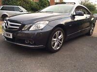 Mercedes E250 blue efficiency SE CDI excellent condition