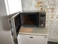 2 x Sainsbury's Stainless Steal Microwave Oven