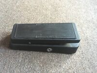 dunlop wah cry baby pedal