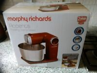 Morphy richards folding stand mixer, Accents, as new in box only used once