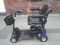 GOGO ELITE TRAVELLER PLUS 4 wheeled mobility scooter , 23 stone weight capacity