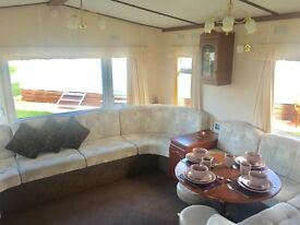 Double Glazed & Central Heated static caravan holiday home - Pet friendly