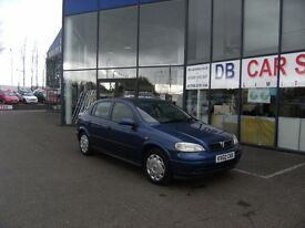 2002 02 VAUXHALL ASTRA 1.6 CLUB 5D 85 BHP **** PART EX WELCOME ****