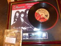QUEEN RARE HAND SIGNED 'BOHEMIAN RHAPSODY' FRAMED WITH C.O.A