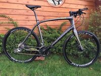 Specialized Sirius Comp Carbon Disc 2015 Hybrid Flat Bar Road Bike