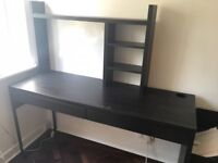 Desk with A3 drawers and desktop accessories