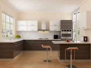 SPRING SALE! SOLID WOOD KITCHEN CABINETS WITH 0% FINANCING FOR 1 YEAR!
