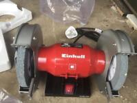 Einhell double wheel bench grinder