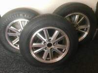 Ford Mustang Wheels 16 inch x 3 with tyres