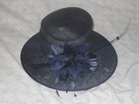 LADIES NAVY BLUE HAT