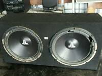 JL AUDIO TWIN SUBWOOFER BASE BOX
