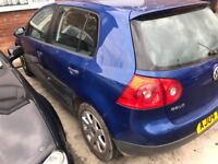 Vw Golf 1.4 petrol