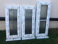 Assorted sizes front and back new complete composite doors