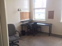 Central office space available for 3 man startup/small business