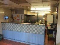 HOT FOOD TAKEAWAY: WATERFOOT, ROSSENDALE: REF:G8619