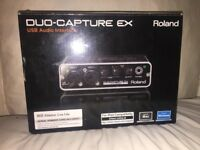Roland USB Audio Interface Duo-Capture Ex