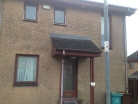 Two Bedroomed end terraced property for renting in Gimmerscroft Crescent.