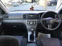 Toyota Corolla 1.4vvti colour collection 85k miles
