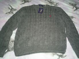 CHILDS RALPH LAUREN JUMPER