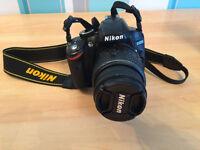 Nikon D3200 Camera with 18-55mm VRII kit lens and Nikkor 55-300mm VR DX lens