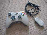 Xbox 360 Controller with Wireless Reciever