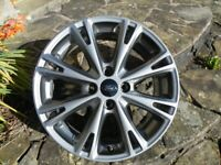 Ford Fiesta S T 8 Spoke Gray Alloy Wheel.