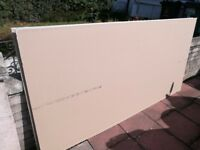 2 sheets of plasterboard 9mm