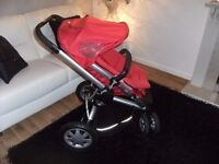 Quinny Buzz 3 wheeler Red Pushchair