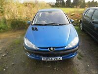 Peugeot 206 1.4 Automatic 87k Miles 2 keepers Full Service History