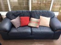 Great quality Leather Sofa and matching Armchair