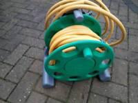 Hoselock reel + hose