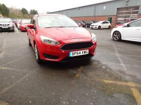 FORD FOCUS 1.6 TDCi Style 5dr (red) 2015