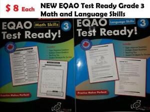 $ 8 Each EQAO Test Ready Math and Language Skills Grade 3 Paperback