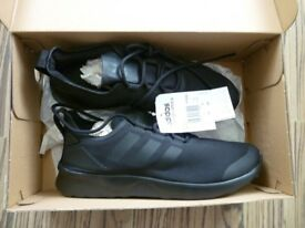 ADIDAS ZX FLUX VERVE ALL BLACK TRAINERS BRAND NEW BOXED ORIGINAL AND GENUINE SIZE 6 BARGAIN L@@K